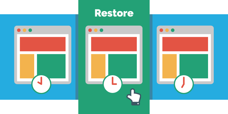 Restore Website Backup
