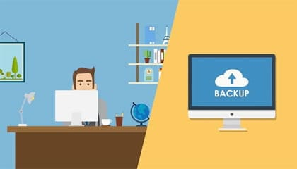 Backup your website in the cloud