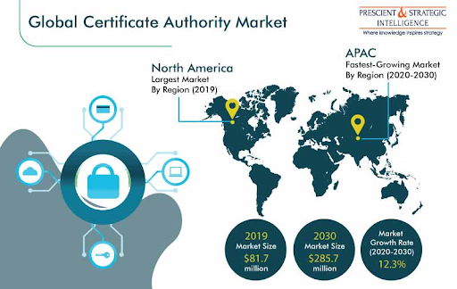 Global certificate authority market